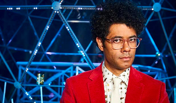 Richard Ayoade to front Dave's Question Team | Comedian contestants will write each show's questions