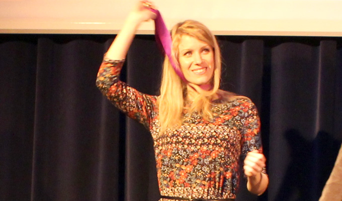 Rachel Parris wins Bath Plug award | Handed out by city's comedy festival
