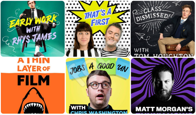 Guess what? More podcasts! | Radio X launches six more from comedians