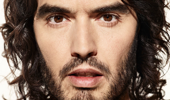 Russell Brand's mum in car crash | Comic pulls his gig to be by her side