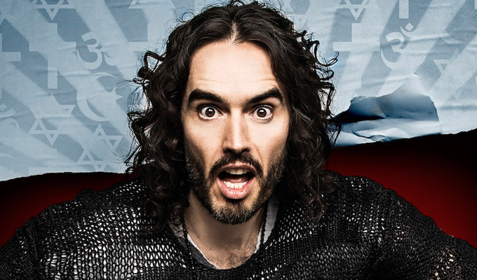 Russell Brand announces new stand-up tour | Re:Brand inspired by the birth of his daughter