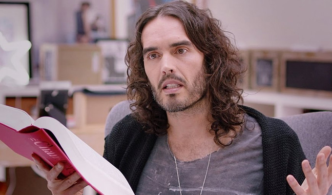 Russell Brand's up for debate | Comic tries out new TV format