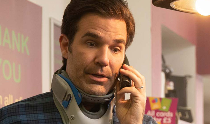 'I like to instil physical discomfort into people who tune in to watch a comedy. I get off on that' | Rob Delaney on Catastrophe