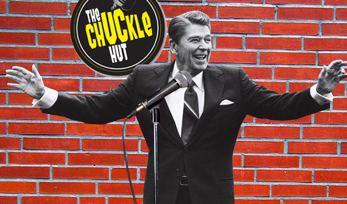 Ronald Reagan used to be a stand-up | And 24 more facts from QI's latest book