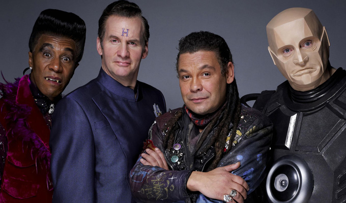 Red Dwarf returns – twice | Comedy out of stasis for TWO new series