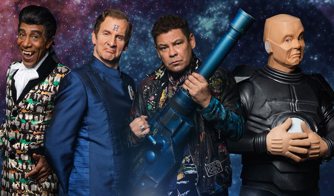 Red Dwarf plans a stage extravaganza | Crew set to land at London's O2 Arena