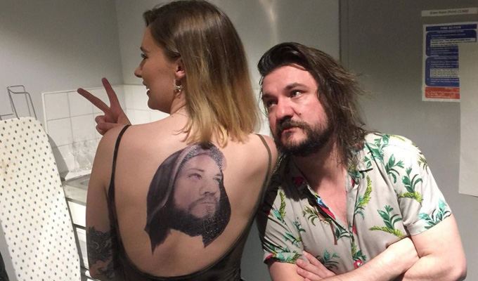 That's ink-redible | Comic Matt Reed stunned by devoted fan's tattoo