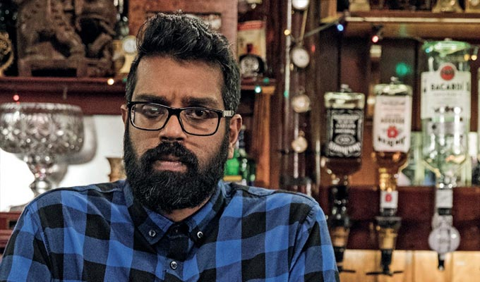 Romesh Ranganathan signs a new Sky deal | Broadcaster to have first refusal on his ideas