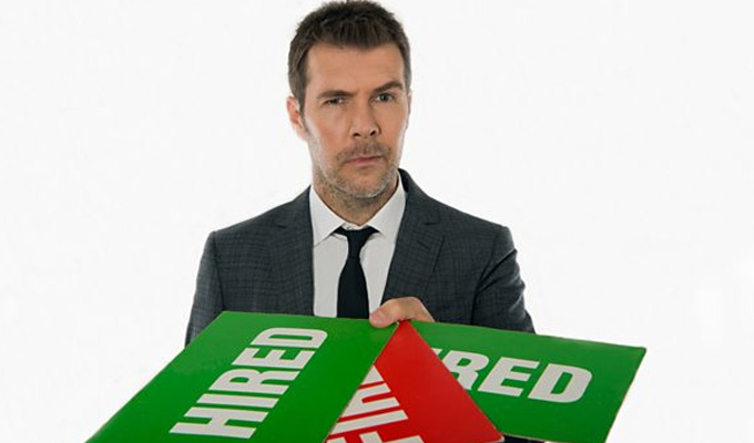 Rhod Gilbert to host The Apprentice: You're Fired | And Romesh Ranganathan stands down