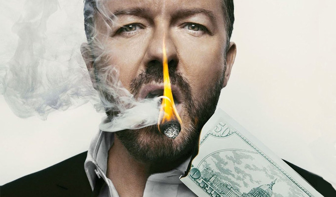 Ricky Gervais joins top ten best-paid comedians list | Stand-up pocketed $25million, say Forbes