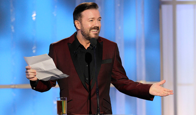 Ricky Gervais to host Golden Globes again | Back after a three-year break