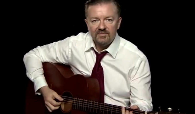 David Brent: The rock mockumentary | Gervais's gigs are 'Trojan horse' for TV idea