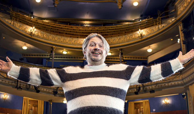 Richard Herring pens an International Men's Day book | Tackling toxic masulinity