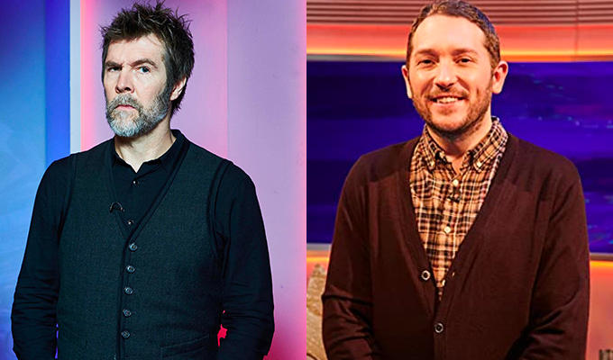 Comedy Central renews Rhod Gilbert and Jon Richardson shows | Growing Pains and Channel Hopping to return