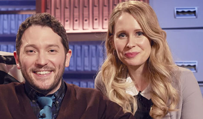 Jon Richardson and Lucy Beaumont to star in a sitcom about their married life | 'Curb Your Enthusiasm meets One Foot In The Grave'