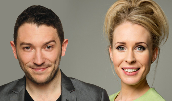 Jon Richardson gets engaged | He pops the question to comic Lucy Beaumont