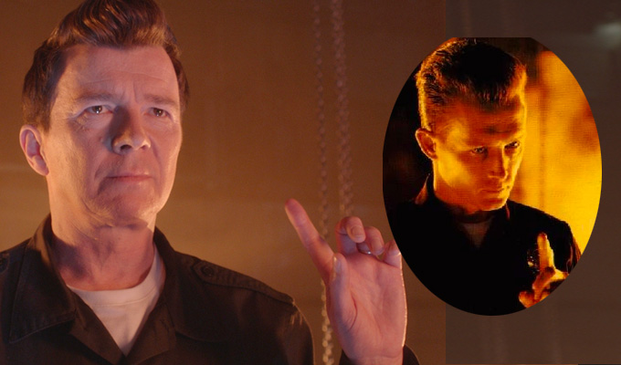 Terminator 2 just got Rick-rolled | Keith & Paddy Picture Show guest casting revealed, with Rick Astley and more...