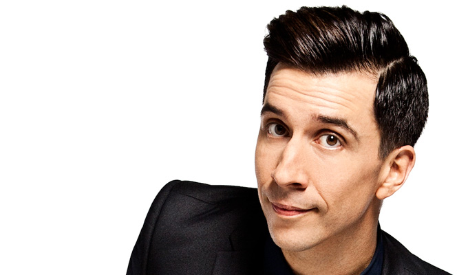 Russell Kane 'was a danger to epileptics' | ...and that's what gave Chris Ramsey his big break