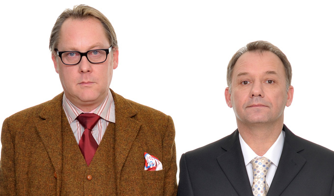 Reeves and Mortimer confirm tour | 14 dates for the autumn