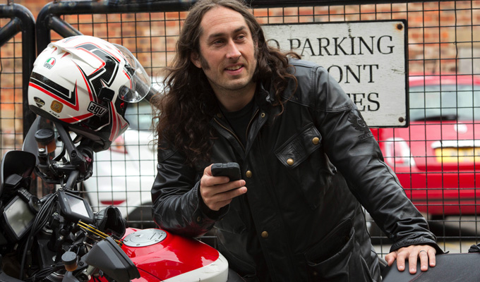 The trials of Ross Noble | Comic takes on gruelling motorbike event for Dave