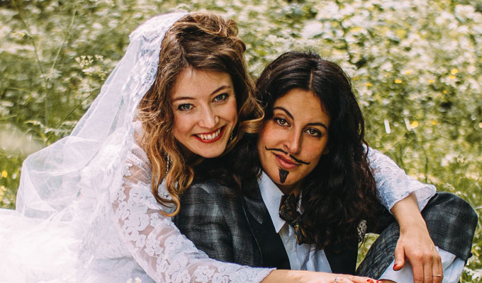 Róisín and Chiara: Get Nupty : Reviews 2019 :     Chortle : The UK Comedy Guide