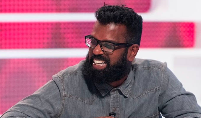 Romesh Ranganathan takes over as League Of Their Own host | For six of the next eight episodes