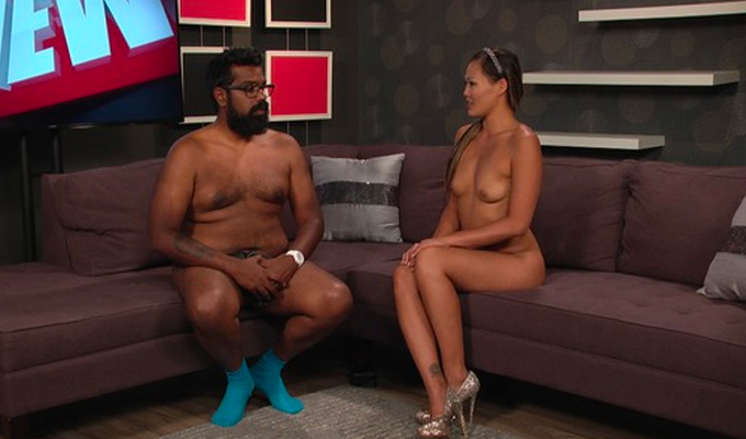 It's Romesh Ranaganaked | Comic strips for nude TV show