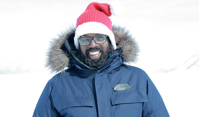 Cold comfort as Romesh Ranganathan heads to the Arctic | ...as Billy Connolly fronts TWO travelogues