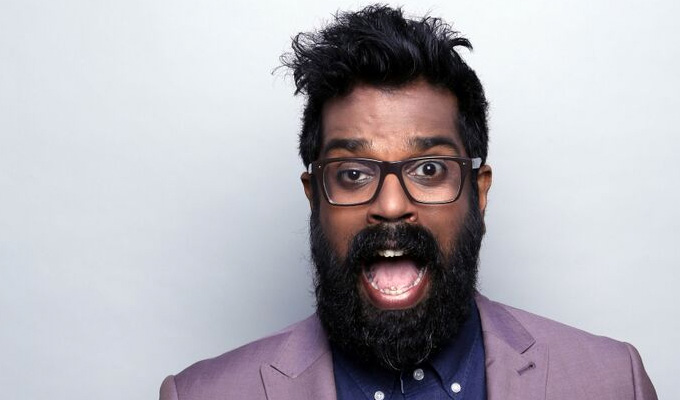 Romesh Ranganathan pilots BBC satire show | That's It For The Week promises 'large scale comedy'
