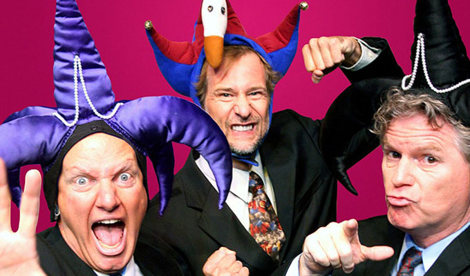 Reduced Shakespeare Company in The Complete History of Comedy (Abridged) | Review by Steve Bennett