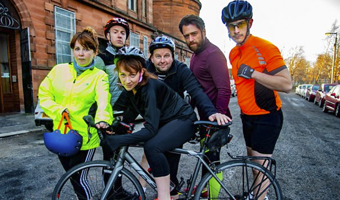 On the chain gang | Comics Greg McHugh and Richard Gadd  in new cycling sitcom