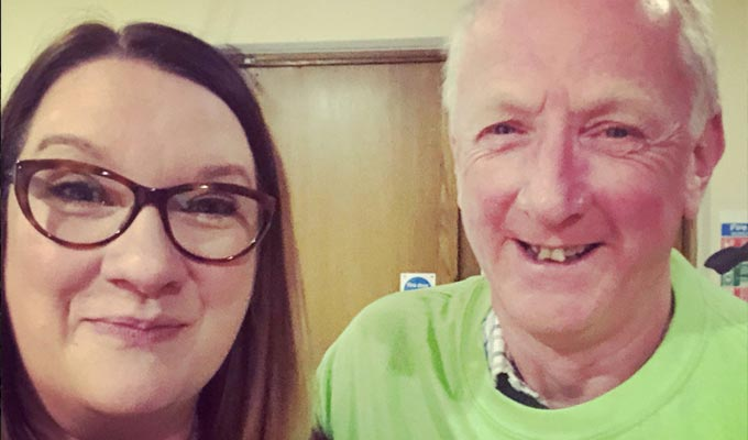 Thanks a Millican, Sarah | Comics' fans raise £180,000 for the Samaritans