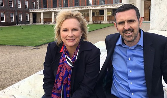 Jennifer Saunders to present Chelsea Flower Show programme | With Gardener's World presenter Adam Frost
