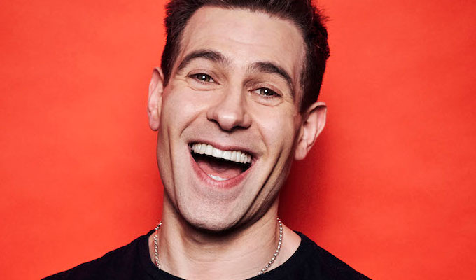 Simon Brodkin announces 2020 tour : News 2019 :     Chortle : The UK Comedy Guide