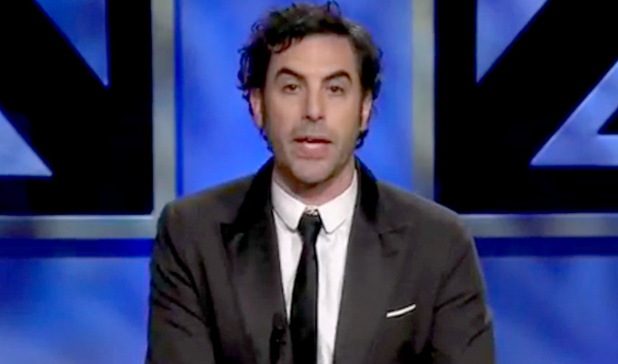Thanks a million, Sacha | Baron Cohen donates $1m to charity