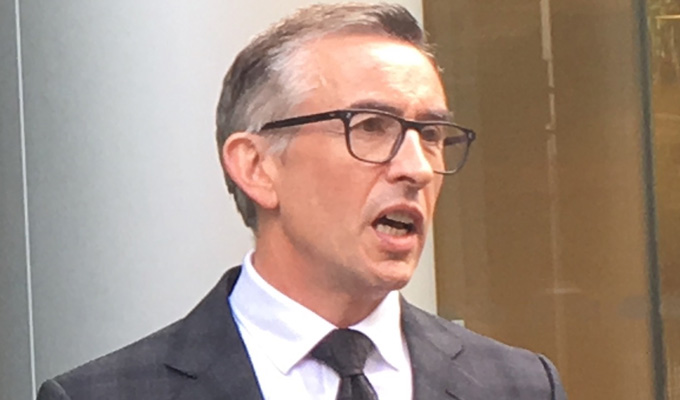 Steve Coogan wins phone hacking damges | And calls for more investigation into Mirror executives