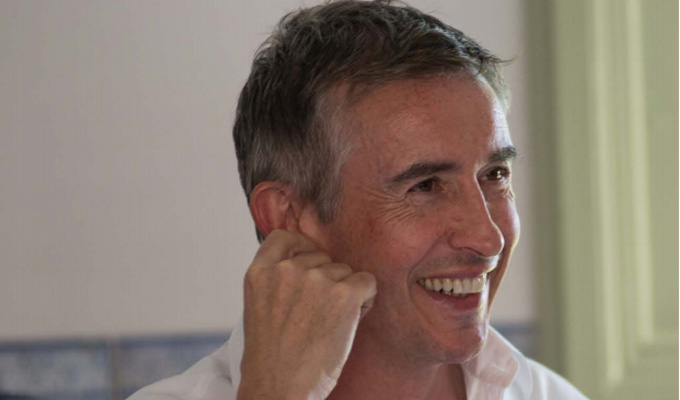 'Rob is probably more naturally funny than I am' | Steve Coogan on The Trip To Spain