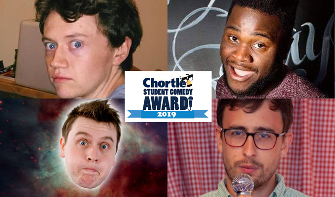 Who's in the 2019 Chortle Student Comedy Award final? | Last places revealed