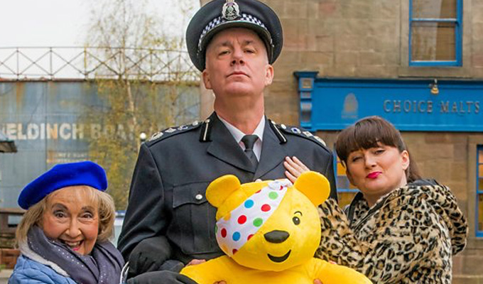 Scot Squad patrols River City | Mash-up sketch for Children In Need