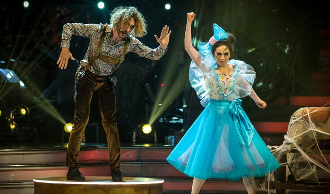 Strictly becomes a Halloween horror show for Seann Walsh | Another low score from judges