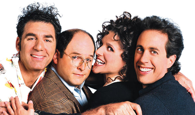 Seinfeld spotted filming in NY | ..with Jason Alexander