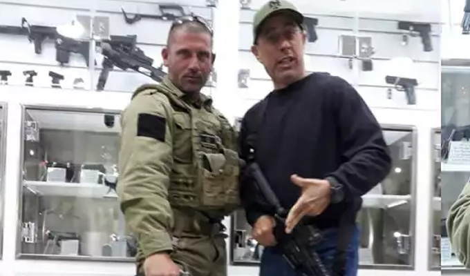 Seinfeld under fire over visit to Zionist military camp | Comic took his kids on 'commando fantasy' trip