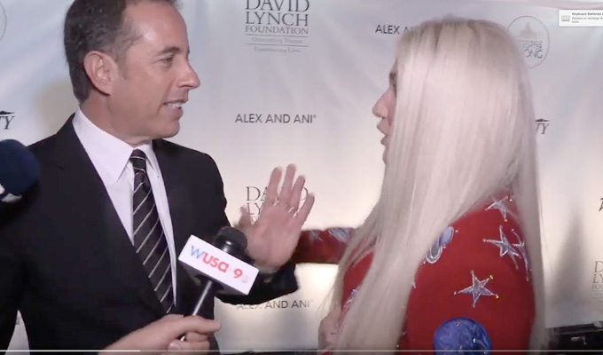 No hugs for you! | Jerry Seinfeld rebuffs Kesha
