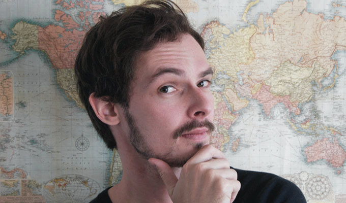 Simon Godfrey: The Earth Is Flat | Melbourne International Comedy Festival review by Steve Bennett