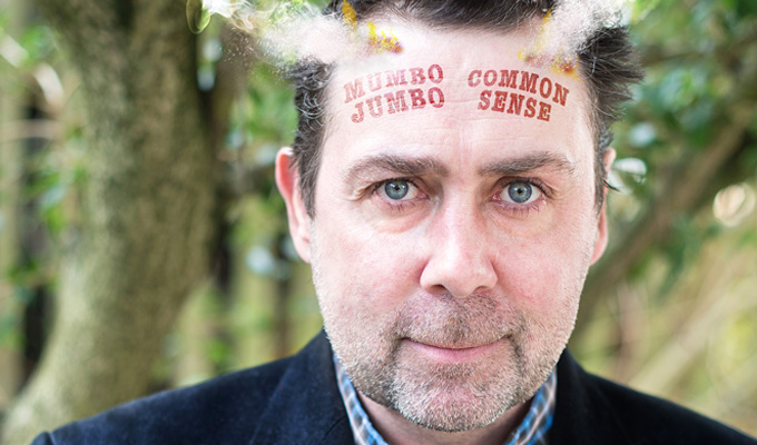 Sean Hughes: Mumbo Jumbo | Gig review by Steve Bennett at the Tricycle Theatre, Kilburn