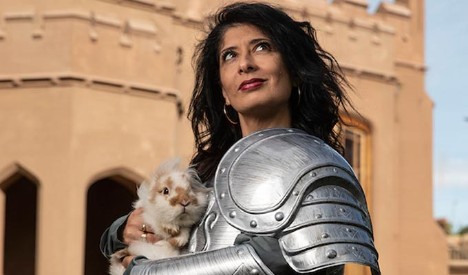 Shappi Khorsandi: Skittish Warrior… Confessions of a Club Comic