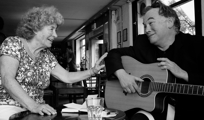 Stewart Lee records a folk song | Hear his version of Polly On The Shore