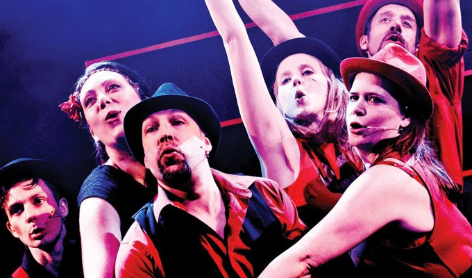 Showstopper! The Improvised Musical | West End review by Steve Bennett at the Apollo Theatre