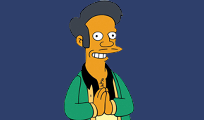I won't voice Apu again... : News 2020 :     Chortle : The UK Comedy Guide