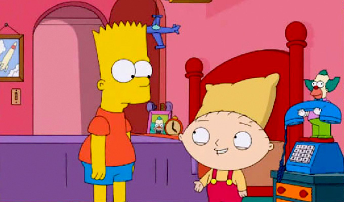 The Simpsons under fire for 'rape' joke | Concern over Family Guy crossover gag